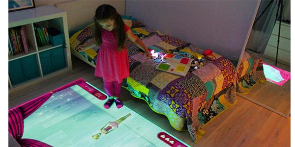 نقش پروژکتور Lumo دراتاق خواب بچه ها